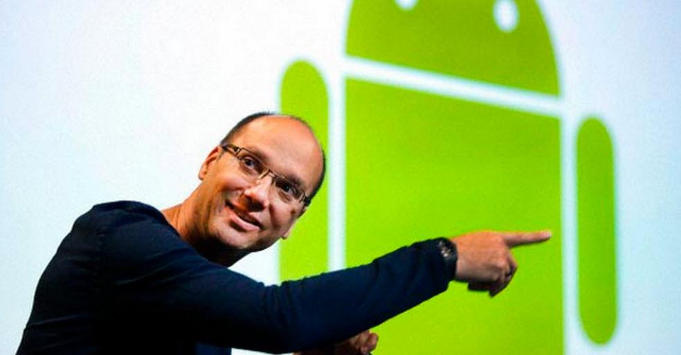 Andy Rubin, Co-criador do Android, abandona a Google