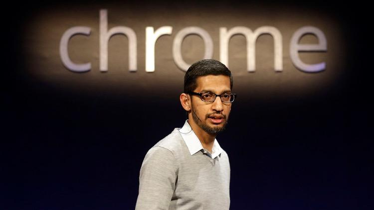 Sundar Pichai passou a gerir a maioria dos produtos da Google