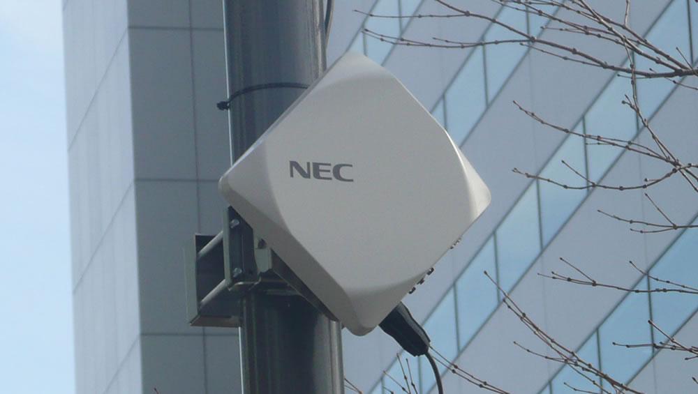 NEC apresenta primeira solução configurável de backhaul rádio