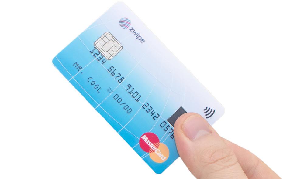 MasterCard anuncia o primeiro cartão com impressão digital