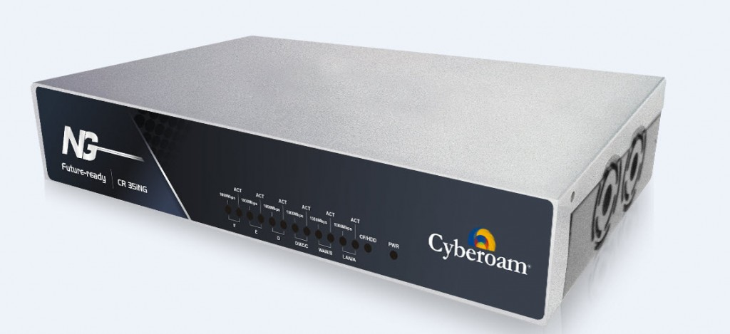 Appliance CR35iNG distinguida pela Computing Security Awards