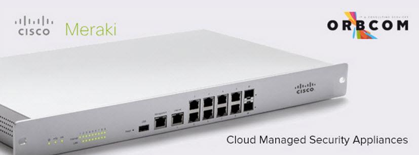 Cisco Meraki MX – Appliances de Segurança geridas na Cloud
