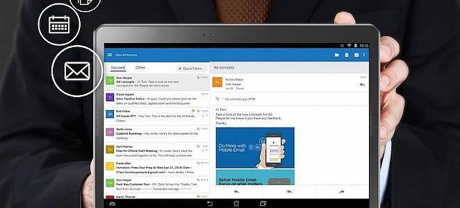 Outlook chegou ao iOS/Android com suporte para o Gmail