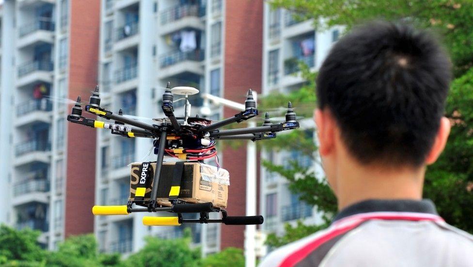 GeoPost testa a tecnologia drone