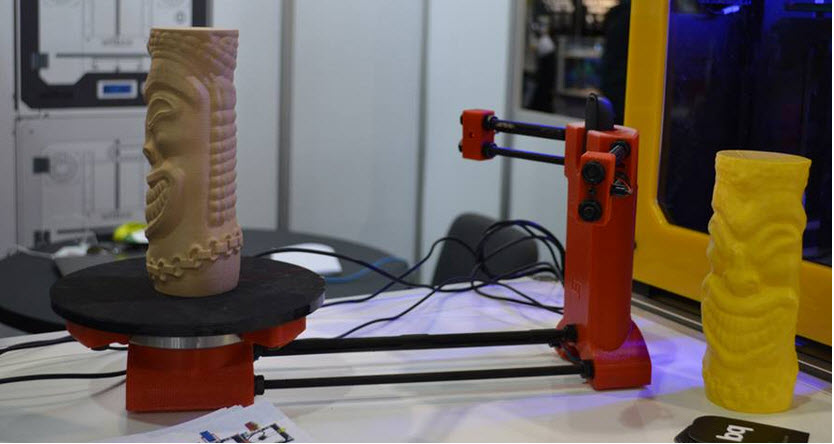 BQ lança Ciclop, o primeiro scanner 3D livre