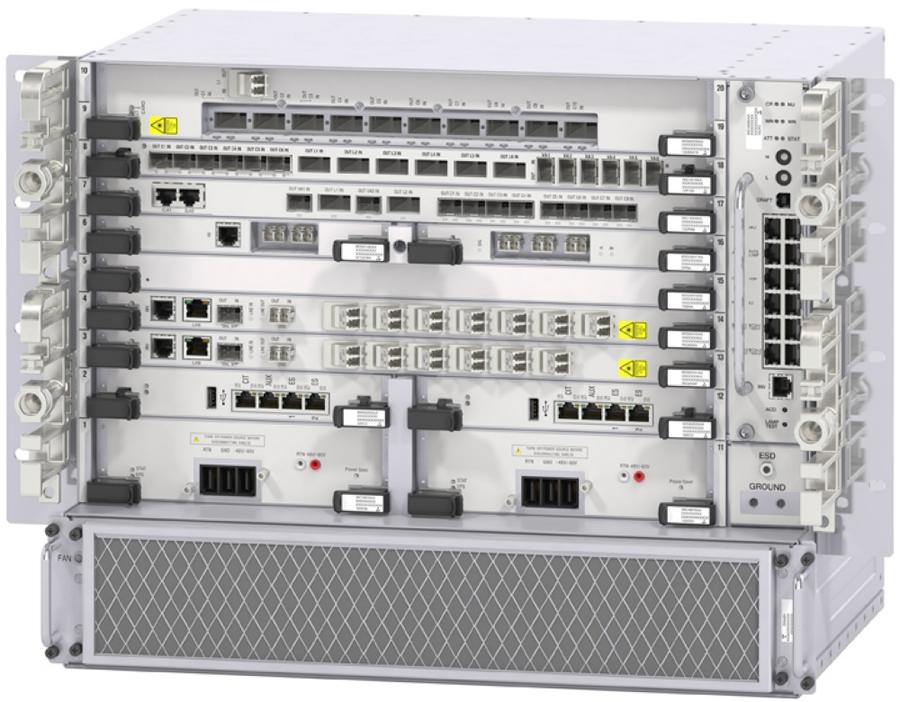 Novos recursos de redes óticas Alcatel-Lucent