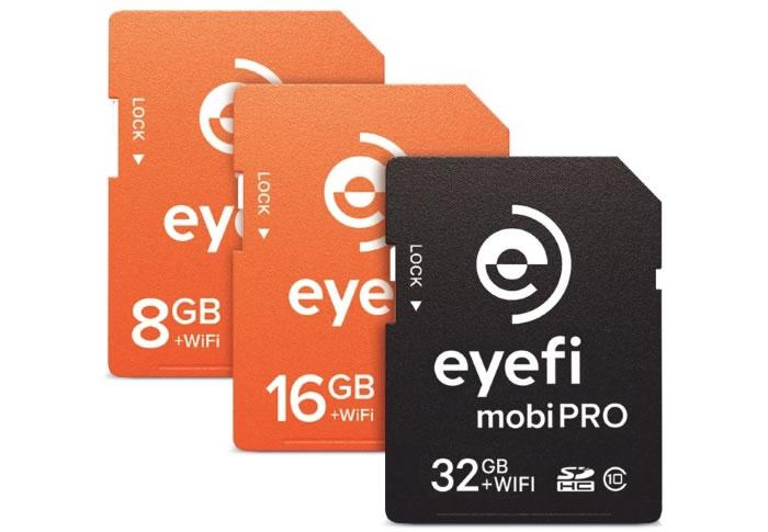 Eyefi lança cartão SD com Wi-Fi de 32GB para profissionais