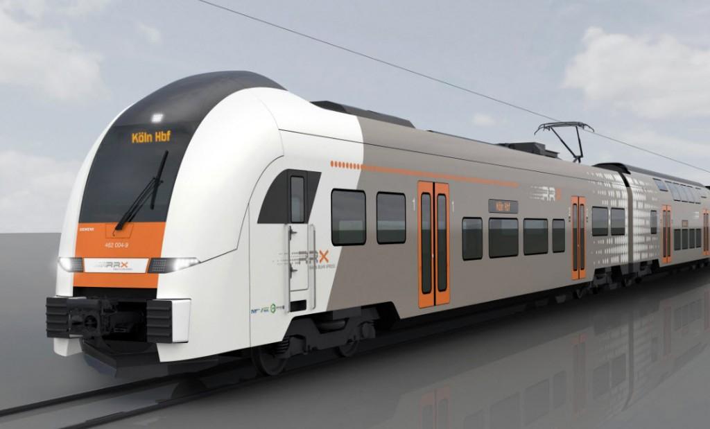 Siemens vai fornecer 82 comboios para Expresso Rhine-Ruhr