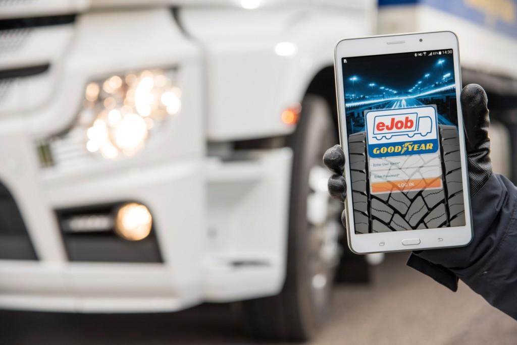 Goodyear apresenta aplicação App eJob