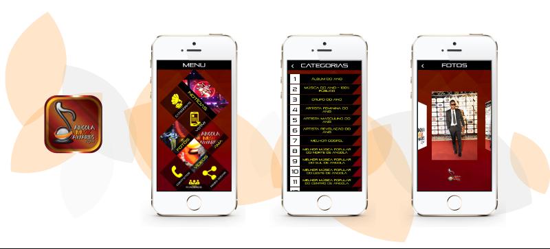 Angola Music Awards 2015 tem app portuguesa