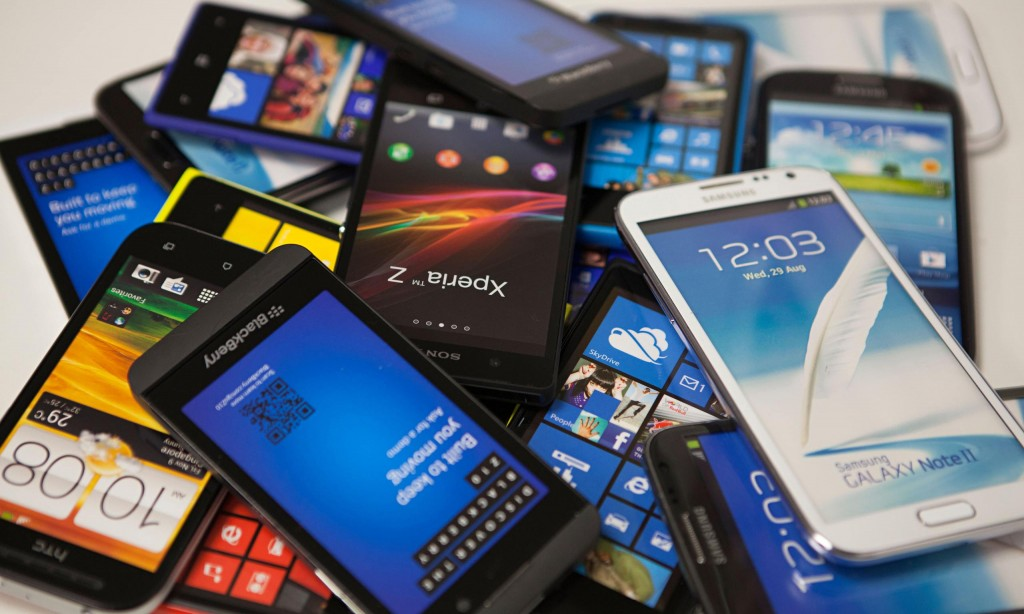 70 por cento da população mundial vai usar smartphones até 2020