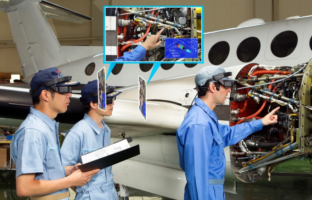 Epson revoluciona o mercado industrial com novos smartglasses