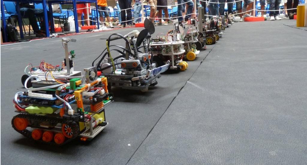 13ª Edição do Concurso Robô Bombeiro bate recordes