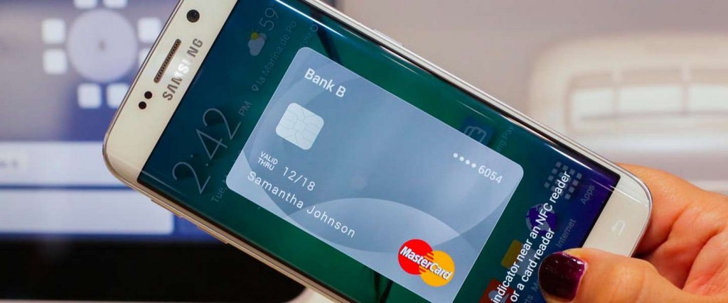 Samsung Pay na Europa com a MasterCard
