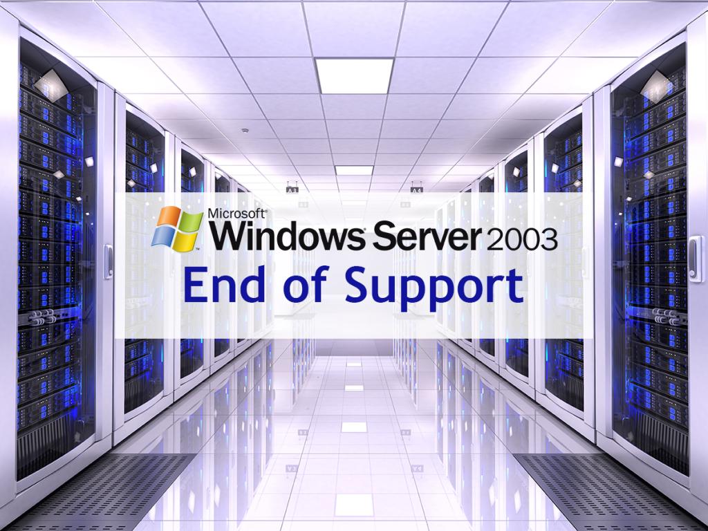 Suporte ao Windows Server 2003 termina amanhã