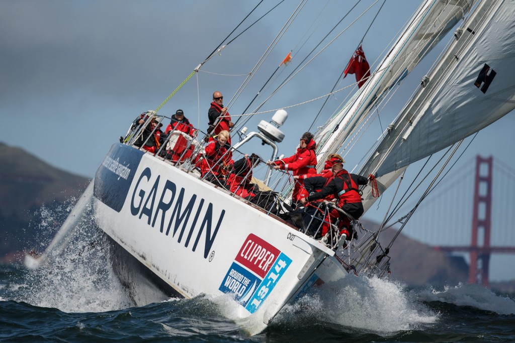 Garmin patrocina a regata Clipper Round the World