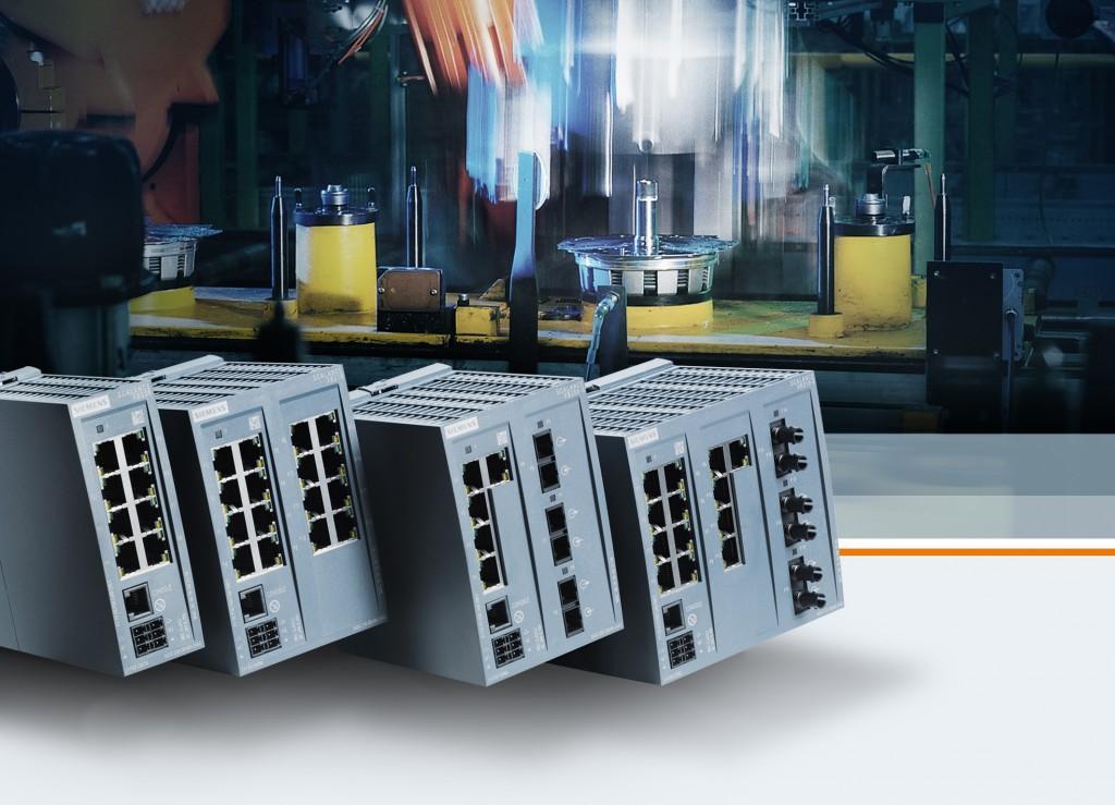 Switches Ethernet permitem comunicação flexível em vários ambientes de automação