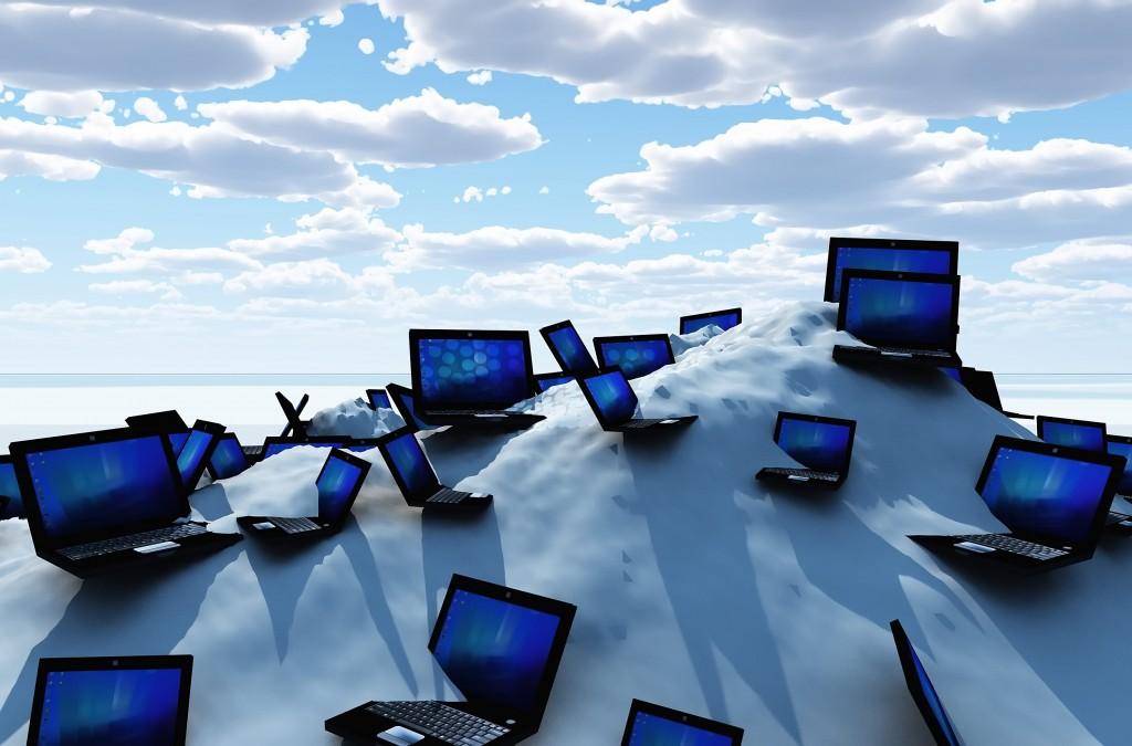 42% das empresas nacionais com serviços na cloud