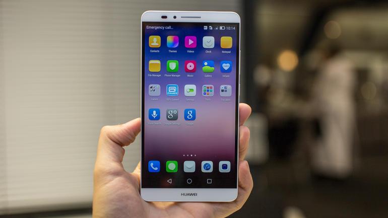Huawei é a segunda maior marca de Android na Europa