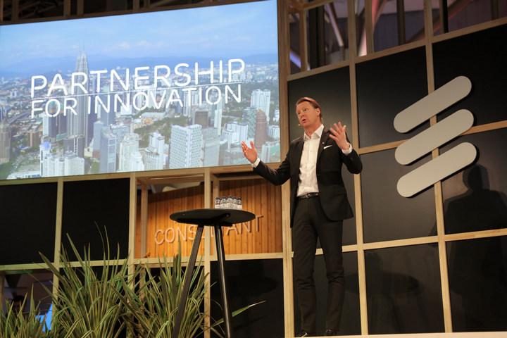 """CEO da Ericsson: """"5G, IoT e Cloud para uma disrupção digital em todas as indústrias"""""""