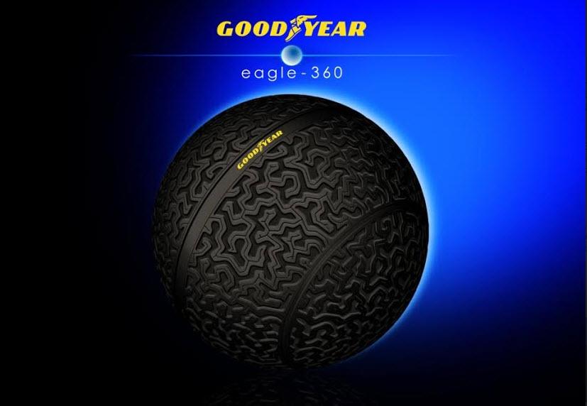 Eagle-360: conceito visionário de pneu para veículos autónomos do futuro