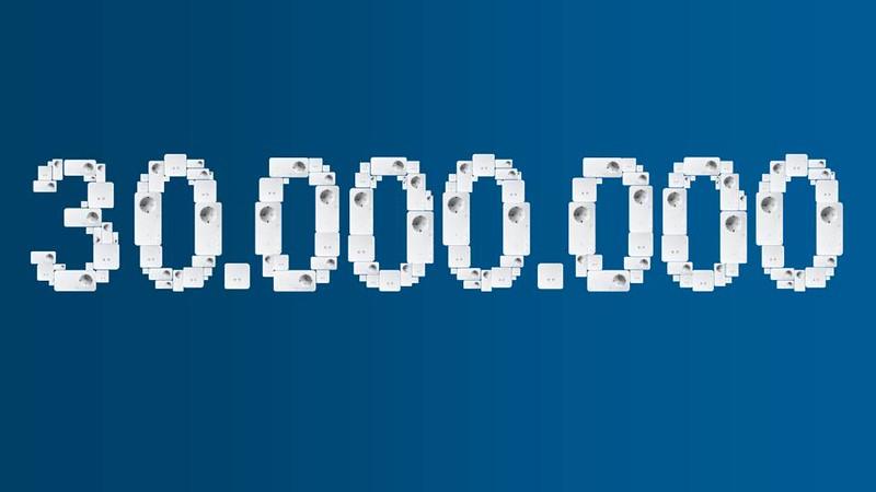 Devolo alcança as 30 milhões de unidades Powerline vendidas