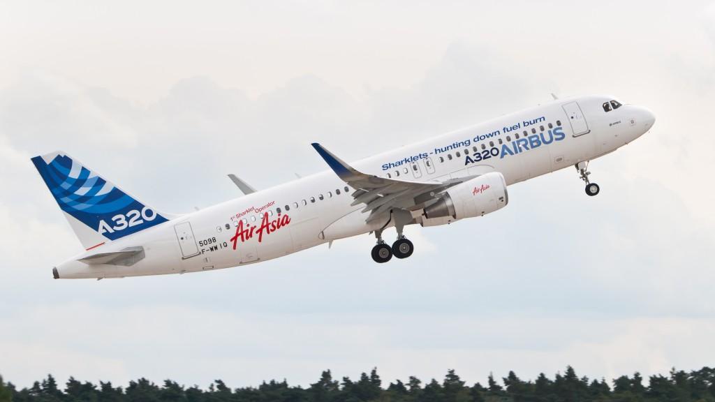 Airbus recebe encomendas no valor de €31,5 mil milhões