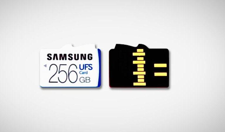 Samsung apresenta o primeiro equipamento UFS do Mundo