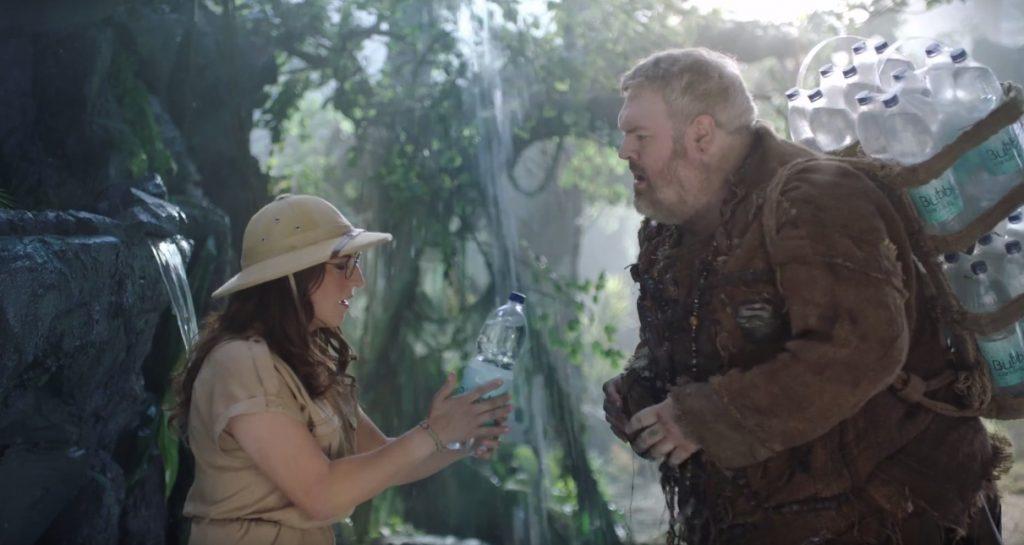 Hodor e Dr. Amy Farrah Fowler juntos em nova campanha da SodaStream