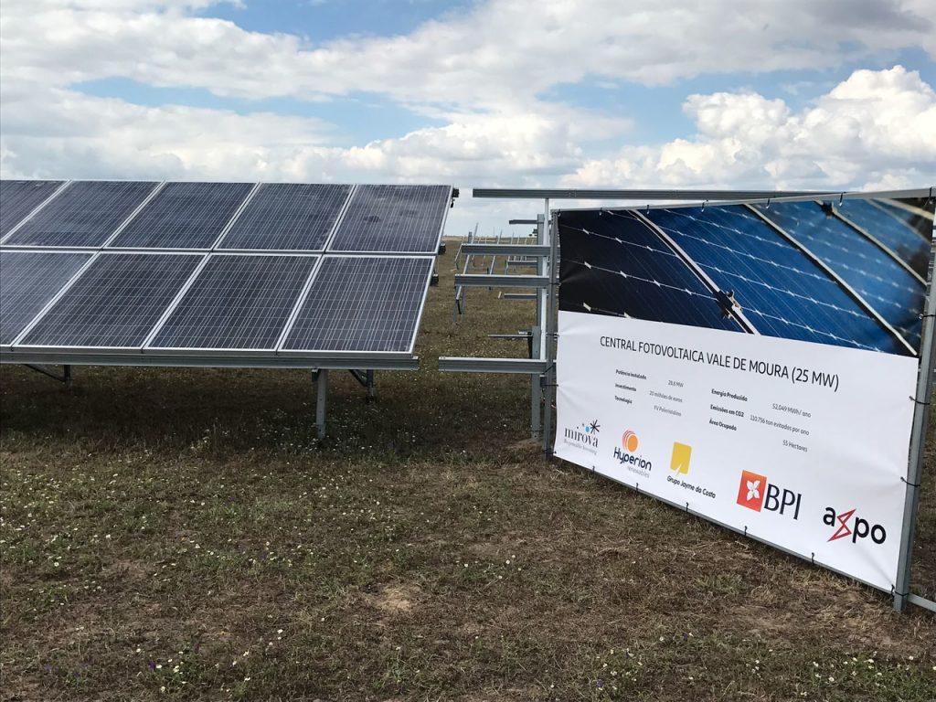 Évora: Primeira central fotovoltaica vai abastecer 10.000 lares