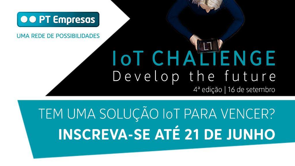 Altice Portugal já abriu as candidaturas para a 4ª edição do IoT Challenge