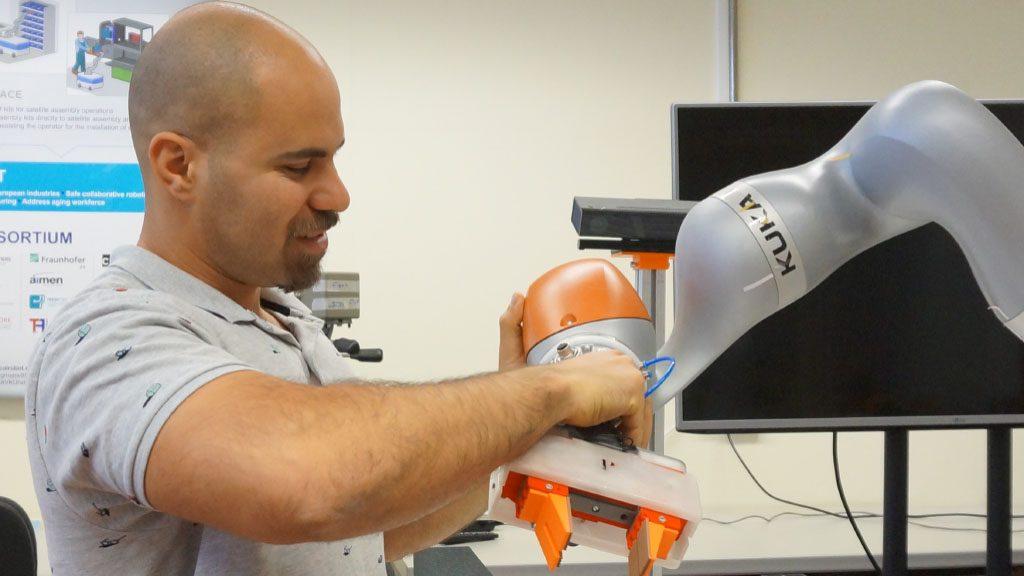 Investigadores da FCTUC desenvolvem software para nova geração de robôs