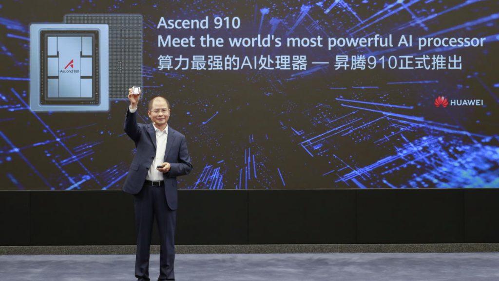 Huawei lança processador de Inteligência Artificial mais potente do mundo