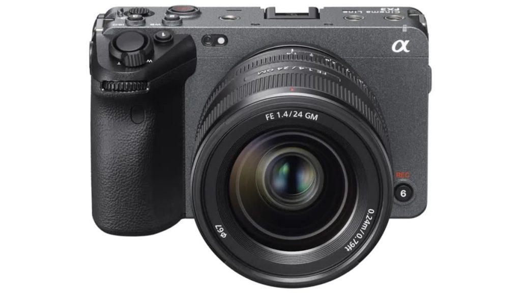 Sony lança a FX3, a câmara full-frame com um visual cinematográfico para criadores de conteúdos