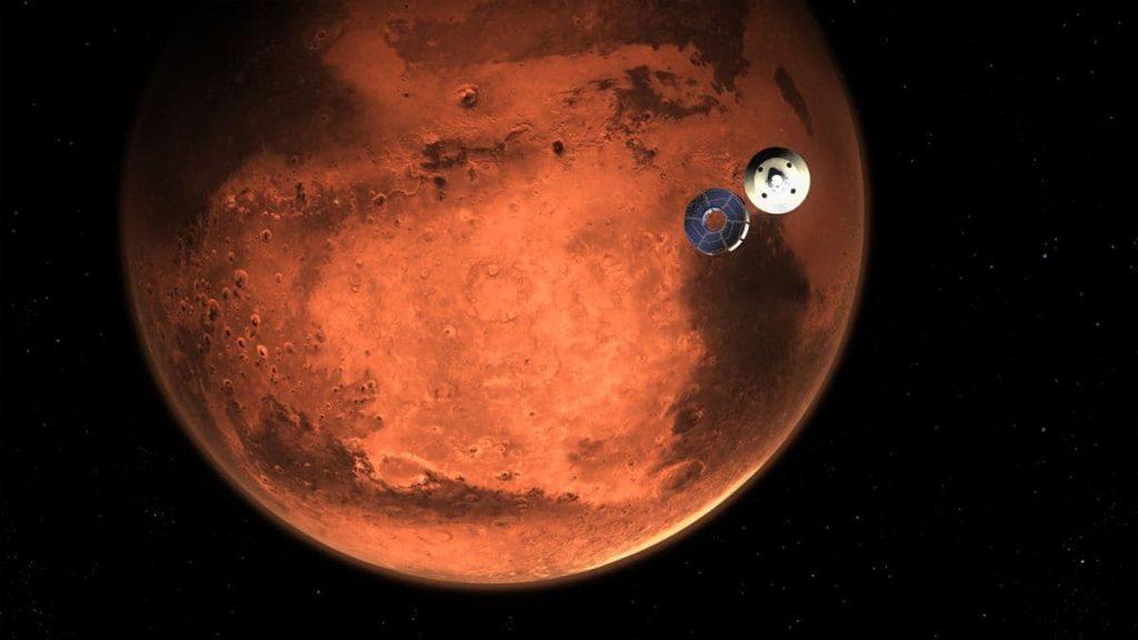 Perseverance aterra em Marte, pronta para explorar com ajuda da cloud