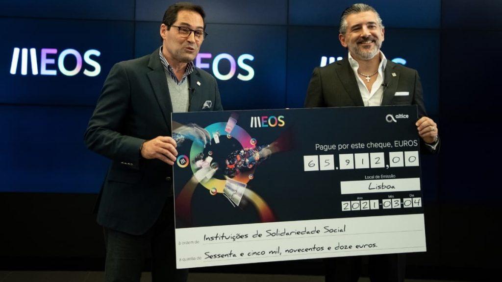 Clientes MEO doam mais de 65 mil euros a Instituições de Solidariedade Social